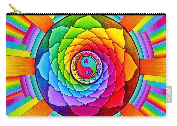 Healing Lotus Carry-all Pouch