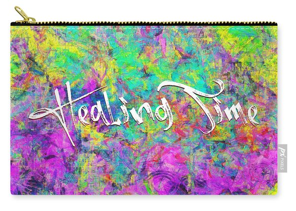 Healing Time Carry-all Pouch