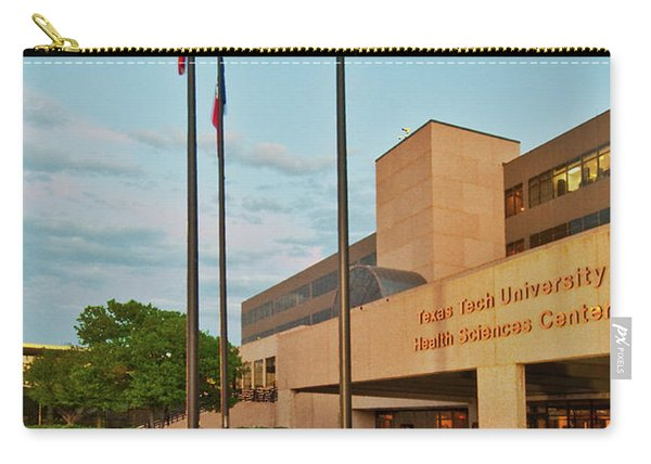 Carry-all Pouch featuring the photograph Health Sciences Medical Center by Mae Wertz
