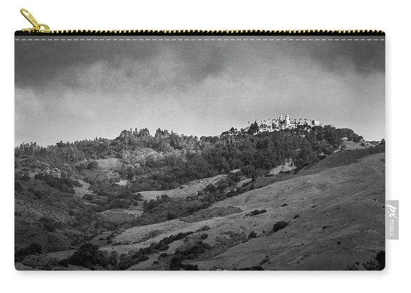 Carry-all Pouch featuring the photograph Hearst Castle by Mary Lee Dereske