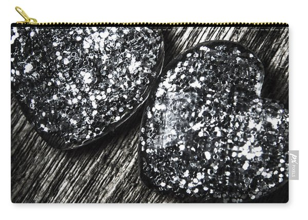 Heart Glass Glitters Carry-all Pouch