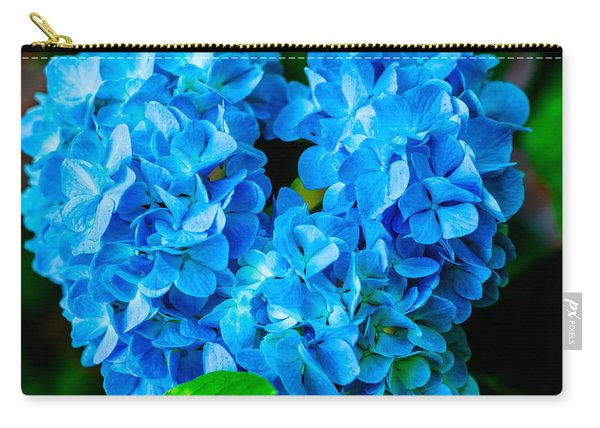 Heart Of Blue Carry-all Pouch