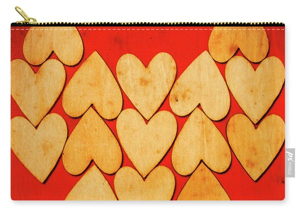 Heart Of Hearts Carry-all Pouch