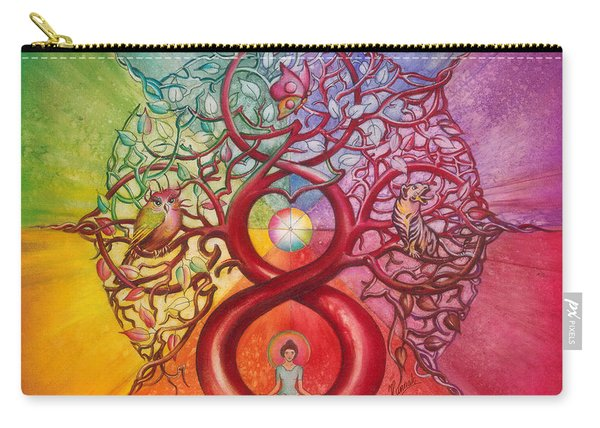Heart Of Infinity Carry-all Pouch