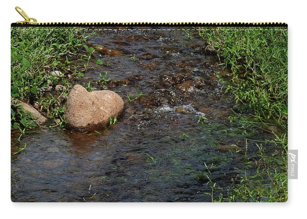 Heart Of The Stream Carry-all Pouch