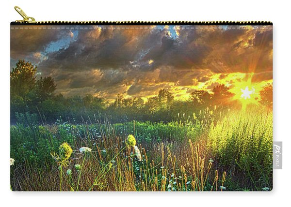 Heaven Knows Carry-all Pouch
