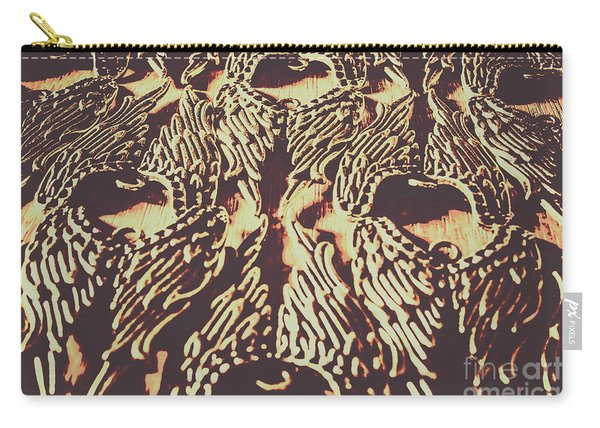 Heavenly Antique Carry-all Pouch