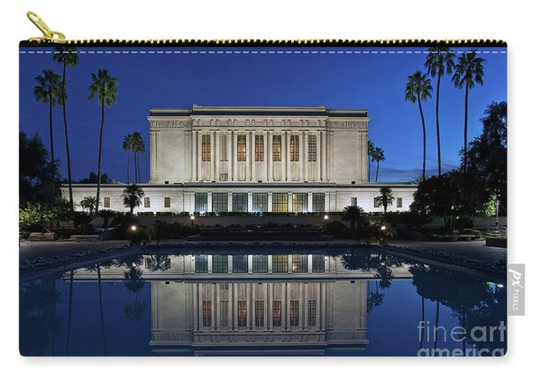Carry-all Pouch featuring the photograph Heavenly Reflections by Sam Antonio Photography