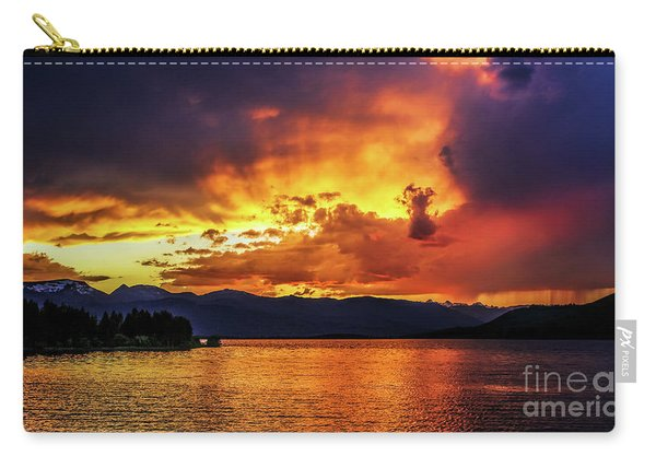 Hebgen Lake Sunset Carry-all Pouch