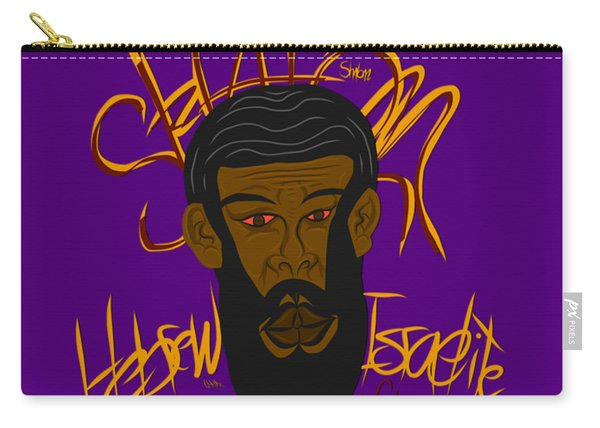 Hebrew Shalom 1 Carry-all Pouch