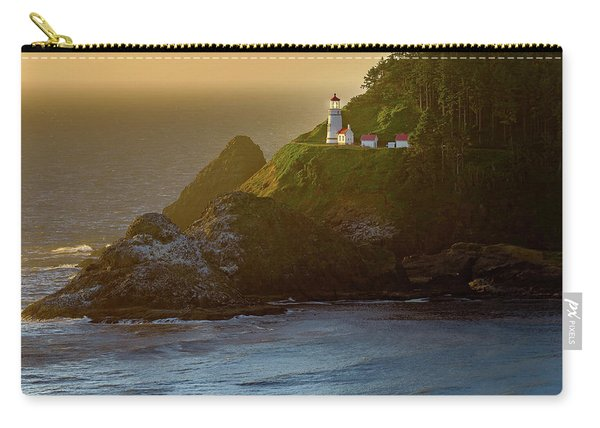 Heceta Head Lighthouse At Sunset Carry-all Pouch