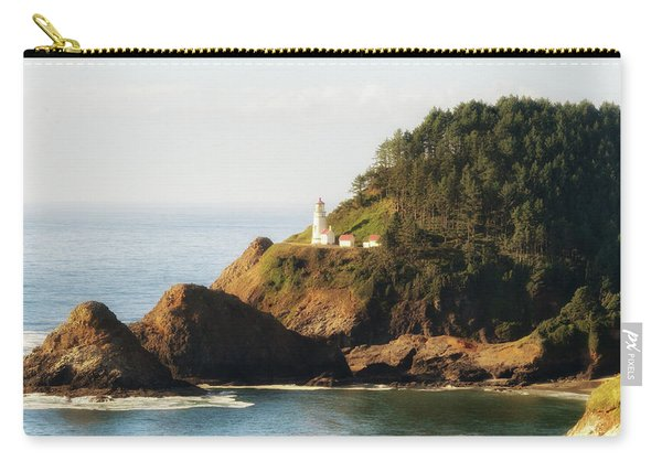 Carry-all Pouch featuring the photograph Heceta Head Lighthouse by Michael Hope