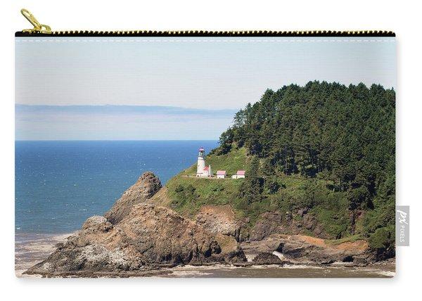 Heceta Head Lighthouse Oregon Coast Detail Carry-all Pouch