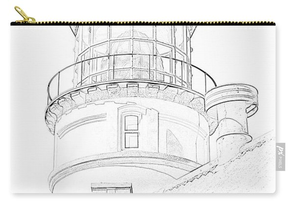 Hecitia Head Lighthouse Sketch Carry-all Pouch
