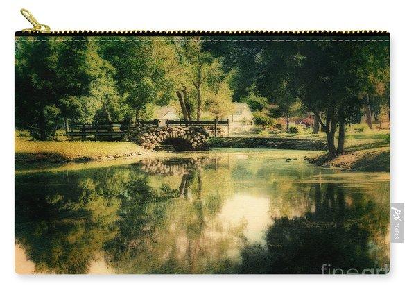 Heckscher Park Pond, Huntington Ny Carry-all Pouch