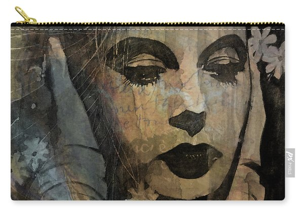 Hedy Lamarr - Only A Woman's Heart  Carry-all Pouch