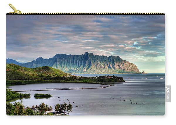He'eia Fish Pond And Kualoa Carry-all Pouch