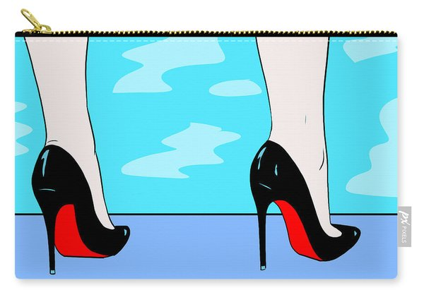Heels By The Pool Carry-all Pouch