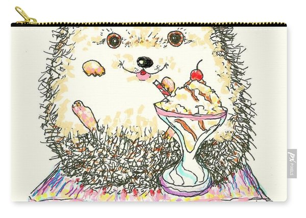 Hedgehog Heaven Carry-all Pouch
