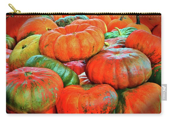 Heirloom Pumpkins Carry-all Pouch