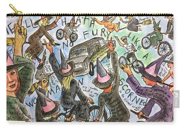 Hell Hath No Fury Carry-all Pouch