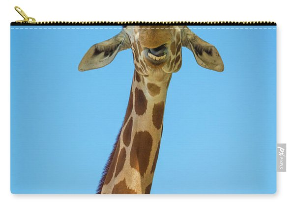 Hello Giraffe Carry-all Pouch