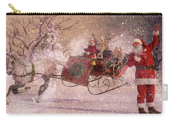 Hello Santa Carry-all Pouch
