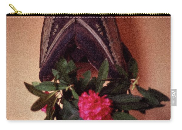 Helmet And Flower Carry-all Pouch