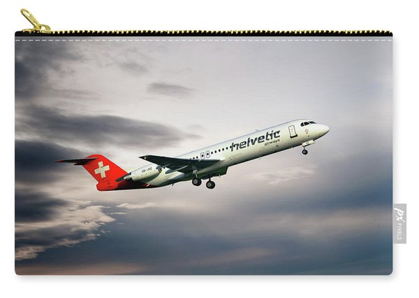 Helvetic Airways Fokker 100 Carry-all Pouch