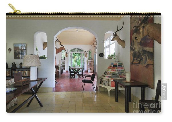 Hemingways' Cuba House Entrance No. 10 Carry-all Pouch