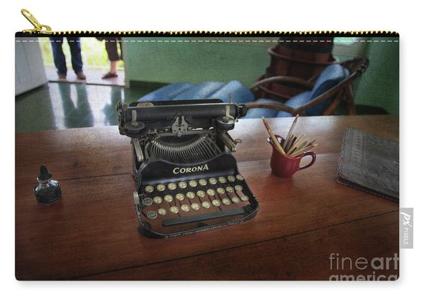 Hemingways' Cuba Typewriter No. 6 Carry-all Pouch