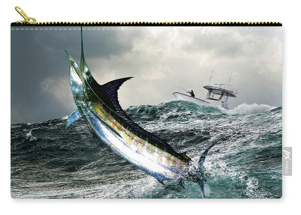 Hemingway's Marlin, The Old Man And The Sea, Fish On Carry-all Pouch