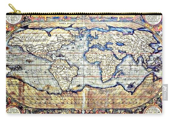 Hemisphere World  Carry-all Pouch