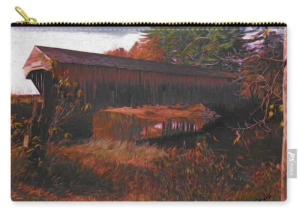 Hemlock Covered Bridge Carry-all Pouch