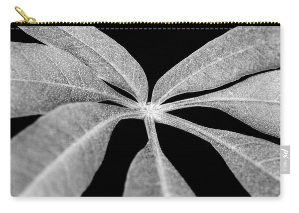Hemp Tree Leaf Carry-all Pouch