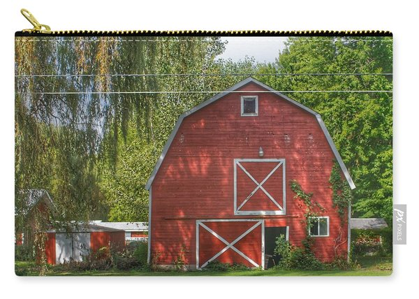 0018 - Henderson Road Red I Carry-all Pouch