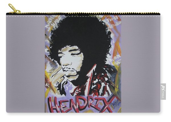 Hendrix Thoughts Carry-all Pouch