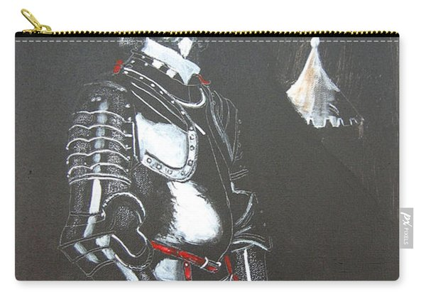 Carry-all Pouch featuring the painting Henry Ireton by Richard Le Page