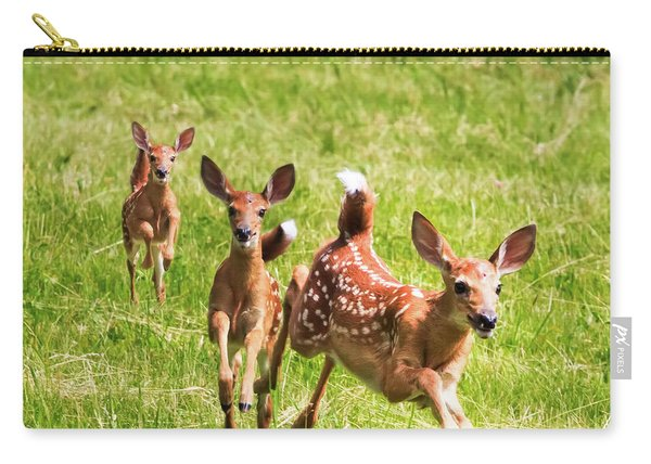 Here She Comes Carry-all Pouch
