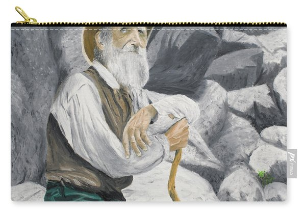 Carry-all Pouch featuring the painting Hero Of The Land by Kevin Daly