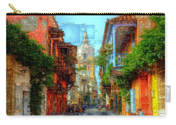 Heroic City, Cartagena De Indias Colombia Carry-all Pouch