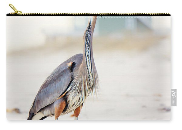 Heron And The Beach House Carry-all Pouch