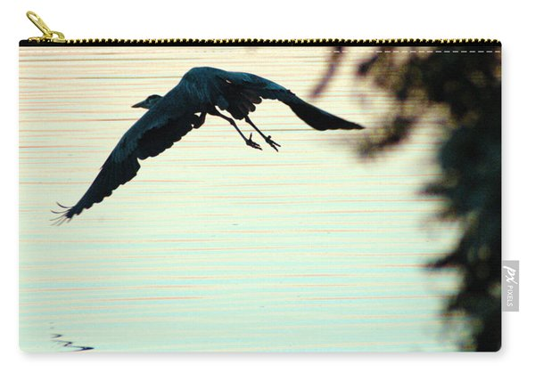 Heron At Dusk Carry-all Pouch