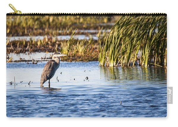 Heron - Horicon Marsh - Wisconsin Carry-all Pouch