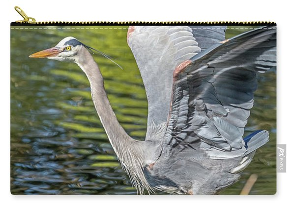 Heron Liftoff Carry-all Pouch