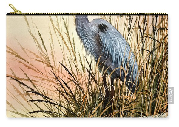 Heron Sunset Carry-all Pouch