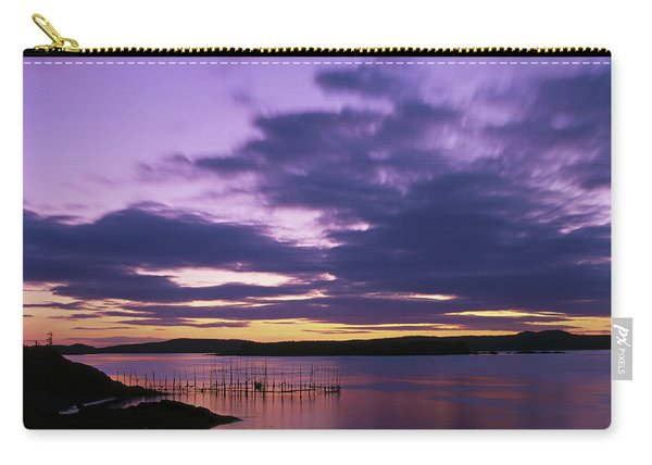 Herring Weir, Sunset Carry-all Pouch
