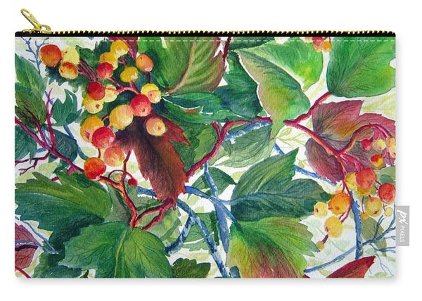 Hi-bush Cranberries Carry-all Pouch