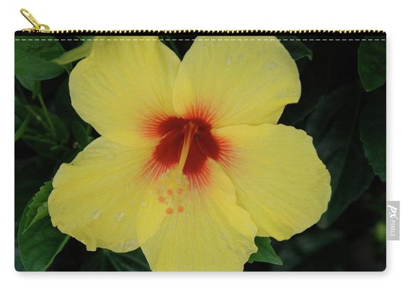 Sun Lover Hibiscus Carry-all Pouch