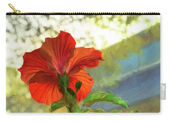 Hibiscus Aglow Carry-all Pouch